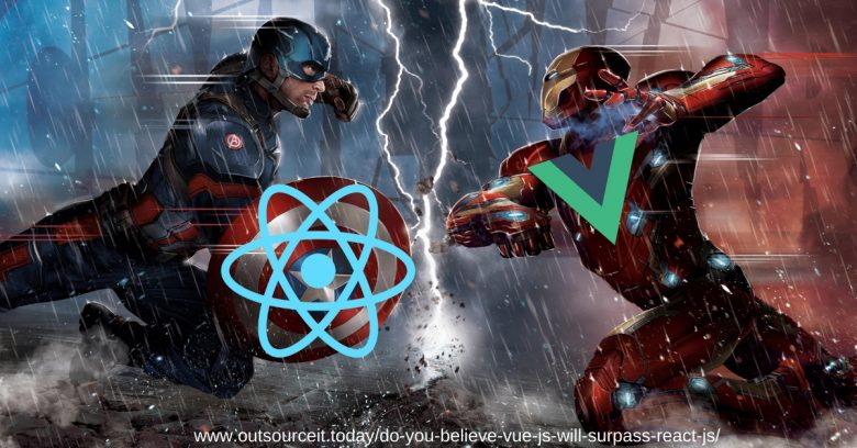 Do you believe Vue.JS will surpass React.JS in 2019?
