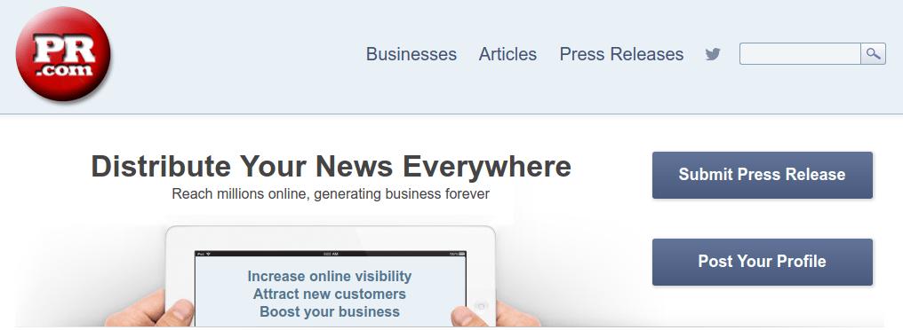 pr.com website