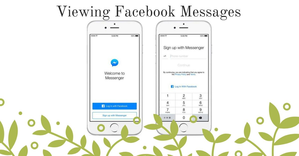 Viewing Facebook Messages Without Installing The Messenger App