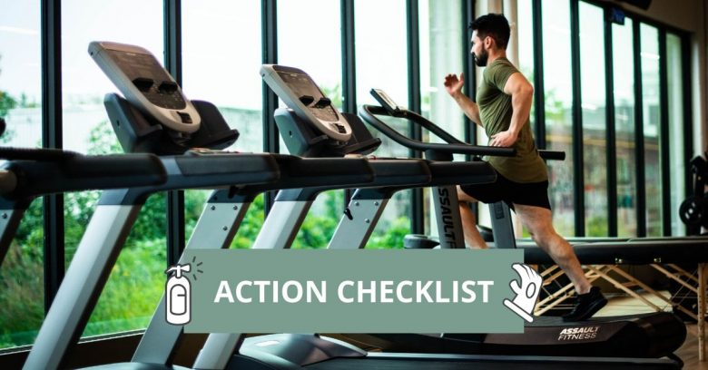 Fitness GYM safety Protocols Checklist App