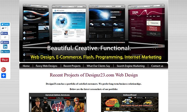 25 Ugly Websites That Make You Want to Laugh or Cry