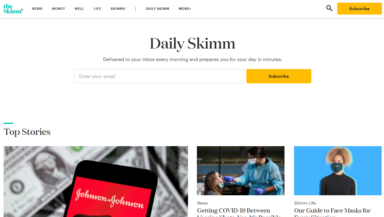 Content Aggregator Website Examples